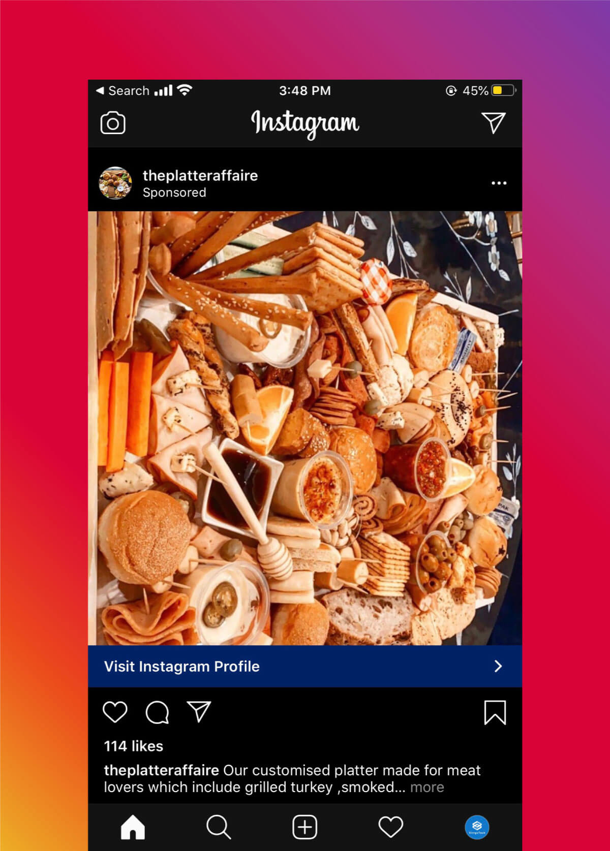 Instagram Marketing Strategy - Paid Ads