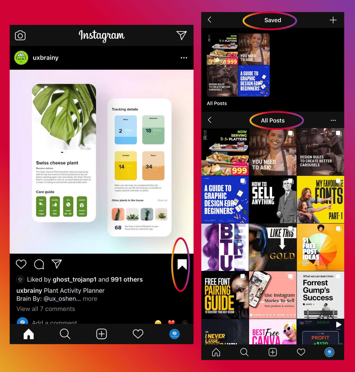Instagram Marketing Strategy - Saved Posts