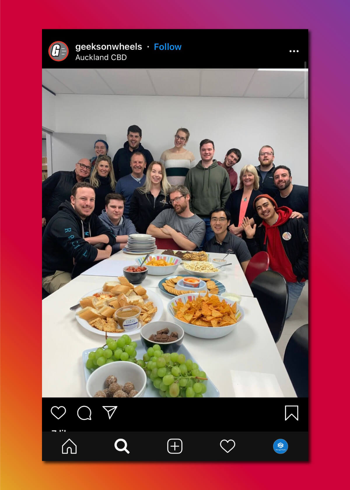 Instagram Marketing Strategy - Behind the Scene Posts
