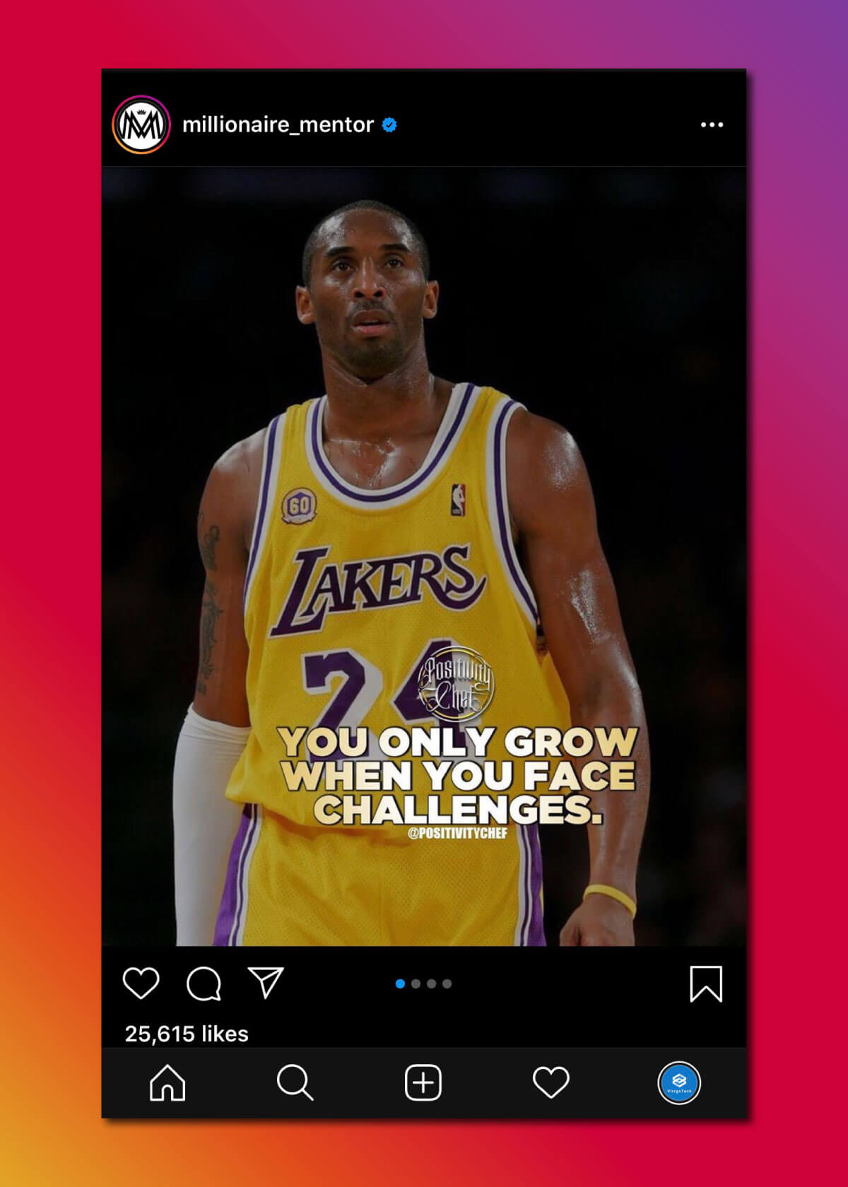 Instagram Marketing Strategy - Motivation Posts